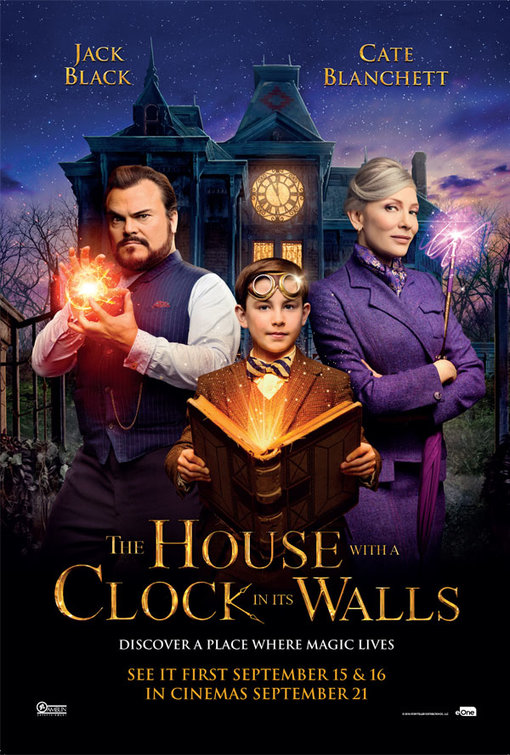 House With Clock  In It's Walls